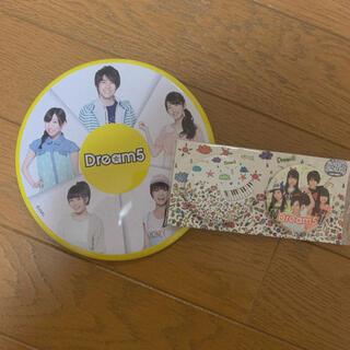 Dream5 缶バッジ(アイドルグッズ)