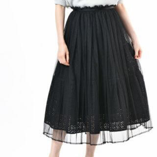 franche lippee - フランシュリッペ ピュアリバーシブルスカート