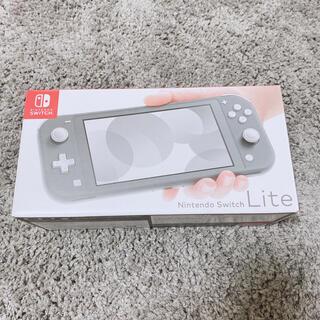 Nintendo Switch - Nintendo Switch 任天堂 SWITCH LITE グレー