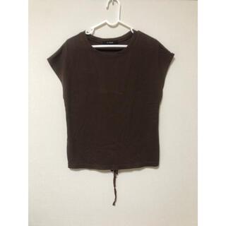 ダブルクローゼット(w closet)のノースリーブ トップス カットソー(Tシャツ(半袖/袖なし))