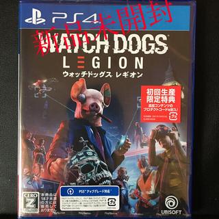 PlayStation4 - 新品 PS4 ウォッチドッグス レギオン 封入特典付 即購入OK