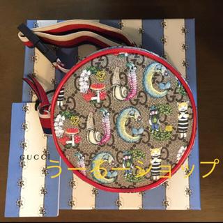 Gucci - レア 店舗限定 ■ ヒグチユウコ × グッチ コラボ ベルトバッグ ラウンド型