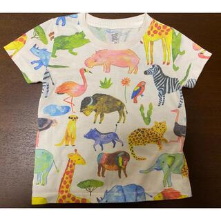 Design Tshirts Store graniph - グラニフ アニマルいっぱいシャツ 90(100) 中古