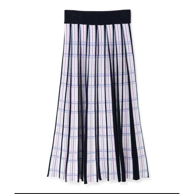 JILLSTUART(ジルスチュアート)のJILLSTUART ジルスチュアート マルタニット スカート レディースのスカート(ロングスカート)の商品写真