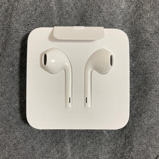 Apple - 新品未使用 iphone 純正イヤホン