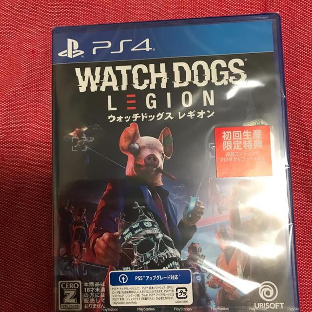 PlayStation4(プレイステーション4)の新品 ウォッチドッグス レギオン エンタメ/ホビーのゲームソフト/ゲーム機本体(家庭用ゲームソフト)の商品写真