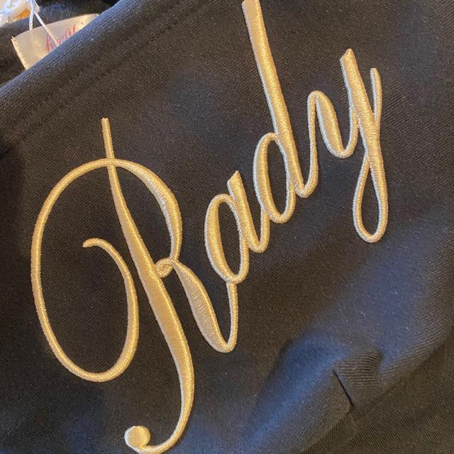 Rady(レディー)の完売♡ちびレディ フーディ M 黒✖️金 キッズ/ベビー/マタニティのキッズ服男の子用(90cm~)(ジャケット/上着)の商品写真