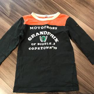 DOUBLE.B - DOUBLE.B 130センチ7部袖Tシャツ