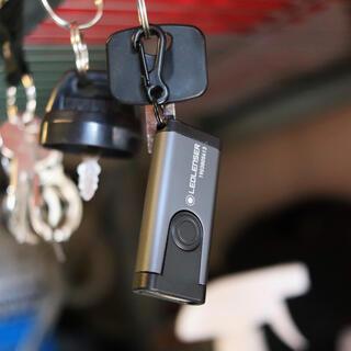 レッドレンザー(LEDLENSER)の【新品未使用】レッドレンザー 充電式 キーホルダーライト K4R 2/4(ライト/ランタン)