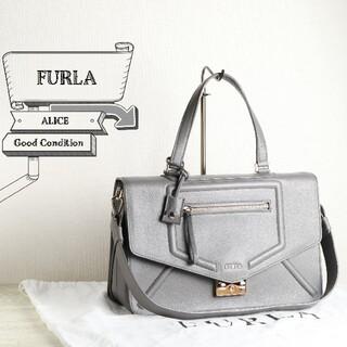 Furla - 美品 FURLA フルラ アリーチェ レザー 2WAY ショルダー バッグ