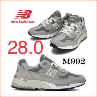 New Balance - ニューバランス NEW BALANCE M992 GR 復刻 28.0