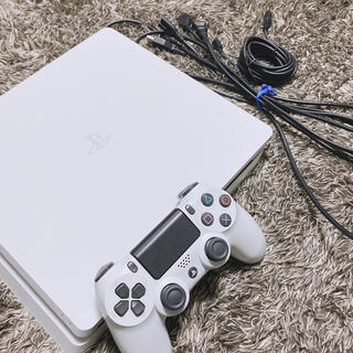 PlayStation4 - SONY PS4 本体 CUH-2200AB02 ホワイト 500GB