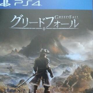 グリードフォール PS4ソフト美品
