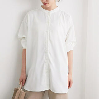 ViS - バンドカラーシャツ