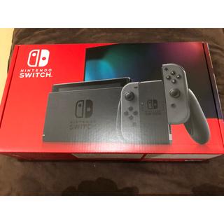 Nintendo Switch - ニンテンドーSwitch グレー 新品未開封