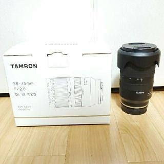 TAMRON - タムロン28-75mm f2.8ソニーαシリーズ