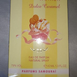 サムライ(SAMOURAI)のサムライウーマン ドルチェキャラメル 香水 新品未開封(香水(女性用))