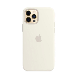 iPhone - 純正 iPhone 12   12 Proシリコーンケース ホワイト