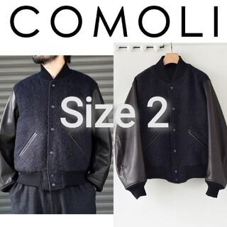 コモリ(COMOLI)の新品■20AW COMOLI アワードジャケット 2 レザー スタジャン(スタジャン)