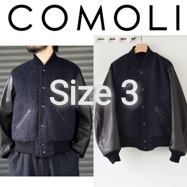COMOLI(コモリ)の新品■20AW COMOLI アワードジャケット 3 レザー スタジャン メンズのジャケット/アウター(スタジャン)の商品写真