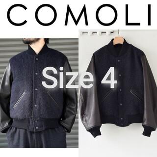 コモリ(COMOLI)の新品■20AW COMOLI アワードジャケット 4 レザー スタジャン(スタジャン)