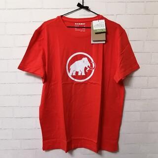 マムート(Mammut)の【新品】Mammut Logo T-Shirt Men アジア2XL 朱色(登山用品)