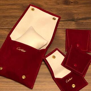 カルティエ(Cartier)のカルティエ小物ポーチ&アクセサリーポーチ4個セット(ポーチ)