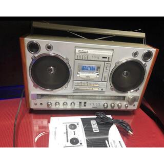 パナソニック(Panasonic)のNATIONAL ナショナル レトロラジカセ RX-7000 大型 ラジカセ (ラジオ)