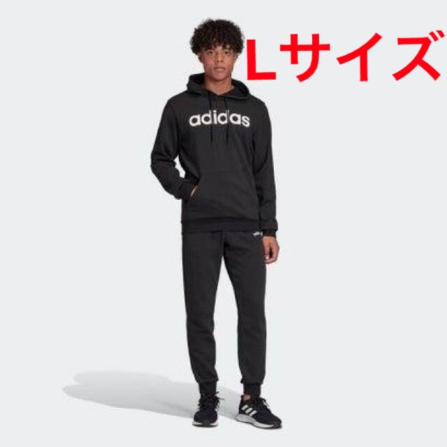 adidas(アディダス)のアディダス フーディー トラックスーツ  Lサイズ メンズのトップス(ジャージ)の商品写真