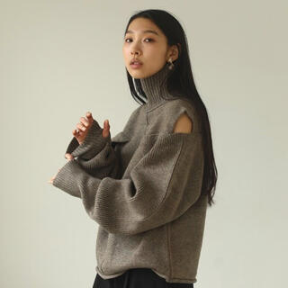 TODAYFUL - todayful  Layered Sleeve Knit  グーレジュ