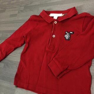 バーバリー ポロシャツ 80(シャツ/カットソー)