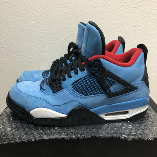 ナイキ(NIKE)の【美品】NIKE AIR JORDAN 4 travis scott 27cm(スニーカー)