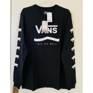 VANS - VANS 長袖Tシャツ ロンT ブラック M バンズ ヴァンズ