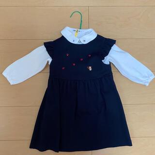 ファミリア(familiar)のファミリア 3点セット 幼稚園 受験 入園式 冠婚葬祭 ワンピース トップス 靴(ドレス/フォーマル)