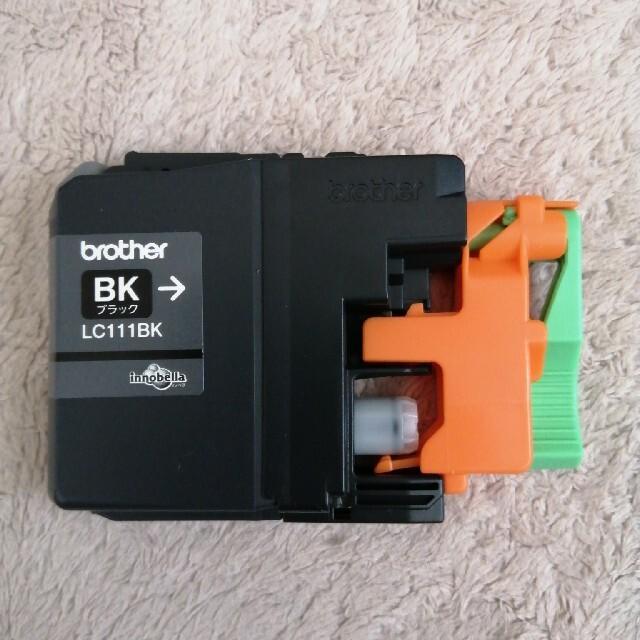 brother(ブラザー)のbrother インクカートリッジ ブラック スマホ/家電/カメラのPC/タブレット(PC周辺機器)の商品写真