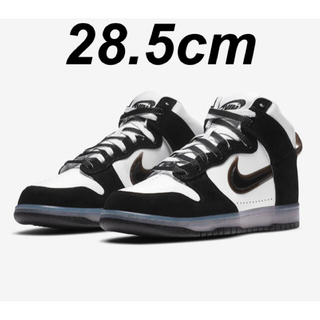"NIKE - SLAM JAM x NIKE DUNK HIGH ""CLEAR BLACK"""