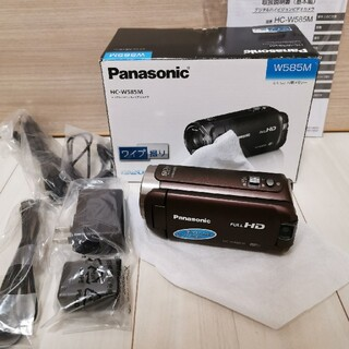 Panasonic - 美品 保証付き Panasonic HC-W585M