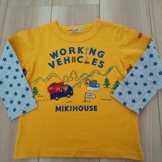 mikihouse - ミキハウス ロンT 100