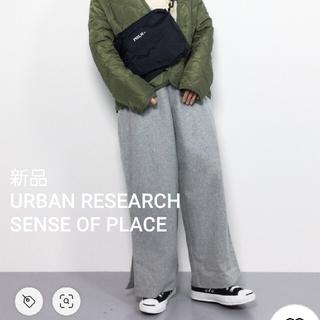 SENSE OF PLACE by URBAN RESEARCH - 新品未使用❁SENSE OF PLACE ウールサイドスリットワイドパンツ