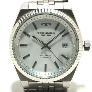 テクノス(TECHNOS)のテクノス 腕時計 - TBM610 メンズ 裏スケ(その他)