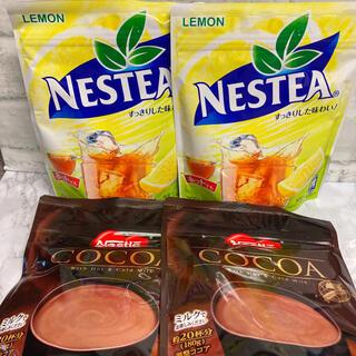 Nestle - ネスレ ココア、ネスティー 各2袋ずつ