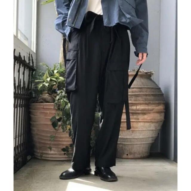 1LDK SELECT(ワンエルディーケーセレクト)のgarden別注 Toironier/トワロニエ カーゴパンツ F メンズのパンツ(ワークパンツ/カーゴパンツ)の商品写真