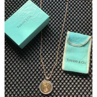 Tiffany & Co. - 【希少】ティファニー T&C ロゴ ネックレス ペンダント 純正チェーン付 箱有