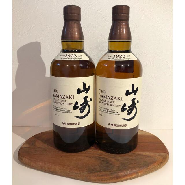 サントリー(サントリー)のサントリー ウイスキー山崎NV[ 700mlml×2本] 食品/飲料/酒の酒(ウイスキー)の商品写真