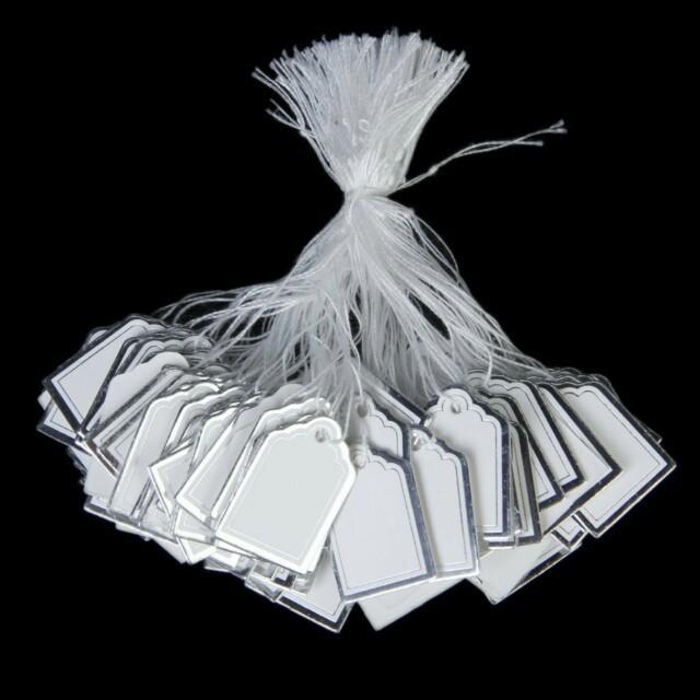 タグ☆値札 100枚 フリマ、バザーなどに ハンドメイドの素材/材料(その他)の商品写真