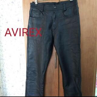 AVIREX - ☆AVIREX♪ライダー革パンツ32インチ☆