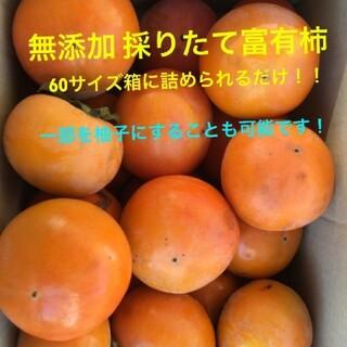 無農薬 富有柿 箱いっぱい!柚子もOK!
