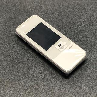 エーユー(au)の未使用 Speed Wi-Fi NEXT W04 au版 ホワイト(PC周辺機器)