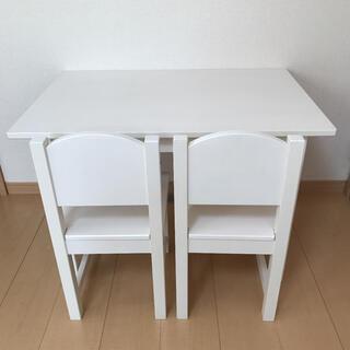IKEA - IKEA  SUNDVIKイケア の子供用の 机 と イス脚 3点セット