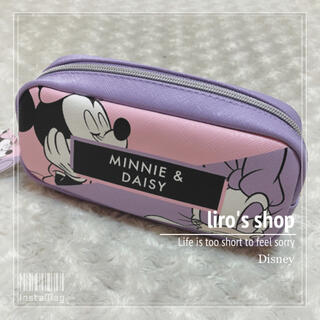 Disney - Disney♡ MINNIE&DAISY ミニー&デイジー ペンケース